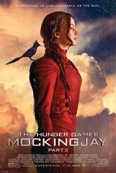 The Hunger Games - Die Tribute von Panem Mockingjay Teil 2 Poster The Mockingjay 61 x 91 cm Die Tribute von Panem Poster - Hadesflamme - Merchandise - Onlineshop für alles was das (Fan) Herz begehrt!