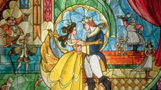 ★ Battle of the Disney Songs - Best Song: Beauty and the Beast ★ Poll Results - Walt Disney Characters Disney Movie Rewards, Walt Disney Characters, Disney Stained Glass, Sunflowers And Daisies, Disney Renaissance, Belle Beauty And The Beast, 25 Days Of Christmas, Disney Songs, Disney Love