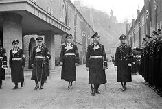 Himmler with SS subordinates