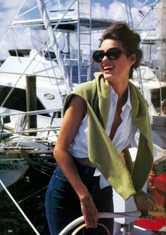 'Great Buys: Class Action' from……….Vogue December 1990 feat Yasmin Le Bon