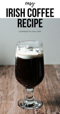 Irish coffee recipe | Making really good Irish coffee at home is possible. Best Iced Coffee, Irish Coffee, Great Coffee, Espresso Coffee, Coffee Coffee, Coffee Tasting, Coffee Drinkers, Coffee Shops Austin, Coffee Facts