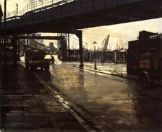 Christopher Chamberlain - Liverpool: America Dock