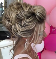 Coiffure De Mariage  : Featured Hairstyle:Elstile;www.elstile.ru; Wedding hairstyle idea.