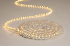 A rug made from LED rope lights I love this!! Now only to figure out how to make it