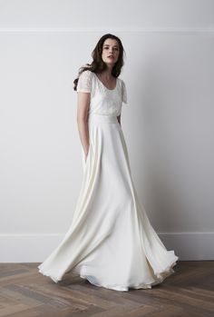 This is another example of dress styling. Just something elegant but effective to the location.