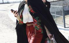 Народная традиция и современность. Часть 2. Павлопосадские платки - ритм и настроение. - Школа стильных образов и идей