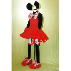 Free Shipping Disney Mickey Mouse Minney dress Outfit cosplay Costume…