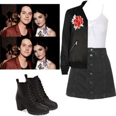 Riverdale by demiwitch-of-mischief on Polyvore featuring River Island, Topshop and MIA