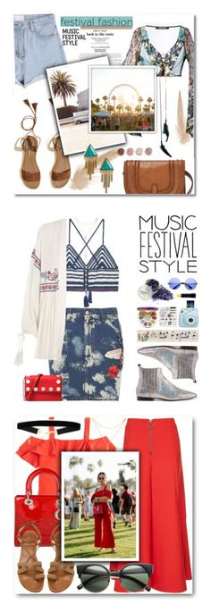"""""""Winners for Show Time: Best Festival Trend"""" by polyvore ❤ liked on Polyvore featuring Roberto Cavalli, FOSSIL, Hollister Co., Treasure & Bond, Terre Mère, festival, festivalstyle, MANGO, Gucci and River Island"""