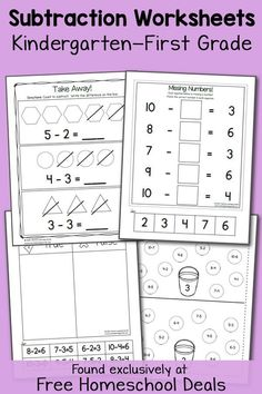 Homeschoolmath Worksheets is a astonishing learning tool for educators and students to use. This is why we have and will continue to make hundreds of release kindergarten worksheets that are intended to fit into a agreeable kindergarten curriculum. Homeschool Worksheets, Kindergarten Math Worksheets, Homeschool Kindergarten, Homeschool Curriculum, Printable Worksheets, Teaching Math, Homeschooling, Math Activities, Preschool Writing