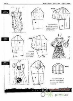 Techniques Couture, Sewing Techniques, Dress Sewing Patterns, Clothing Patterns, Sewing Sleeves, Pattern Draping, Modelista, Sewing Lessons, Sewing Studio