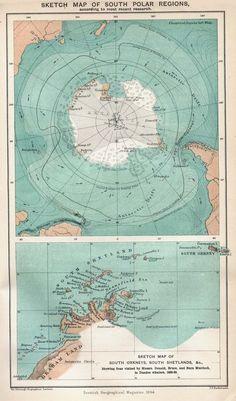 South Pole, 1894.