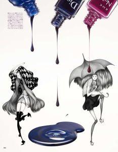Vogue Nipon  by Laura Laine