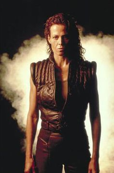 Sigourney Weaver's character of Ellen Ripley in the Alien film series has been voted the top Sci-Fi Woman Of All Time in a poll.       Image:Sigourney Weaver in a scene from Alien: Resurrection
