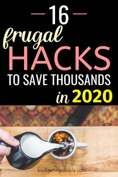 Start saving thousands *every month* in 2020 with these genius (yet simple) frugal living hacks and money saving tips. These frugal tips are the key to save money every day without feeling like it (even if you're a broke frugal living beginner Best Money Saving Tips, Money Saving Challenge, Ways To Save Money, Money Tips, Saving Money, Money Hacks, Money Budget, Groceries Budget, Investing Money