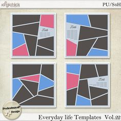 templates psd life templates layered templates design everyday ...