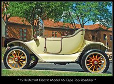 1914 Detroit Electric Roadster by sjb4photos, via Flickr