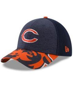 New Era Chicago Bears 2017 Draft 39THIRTY Cap - Navy/Orange L/XL