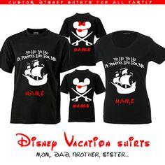 Disney Pirate Shirts Disney Pirate Ears Disney Pirate Family