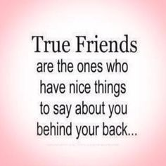 I would really like to send this directly to an individual that has talked negatively about people but then schmoozes for pictures like they are best friends. Note to self!