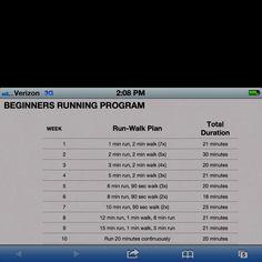 Beginning running program from superskinnyme.com