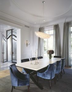 Take a look at this dazzling dining room chandelier that is going to add a unique touch to your dining room decor!