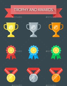 Trophy and Awards - Sports/Activity Conceptual