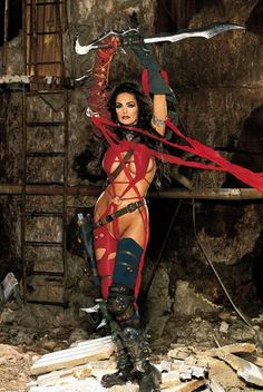 Heavy Metal 2000 Julie cosplayed by her voice actress/model Julie Strain