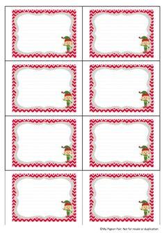 Blank Elf Cards
