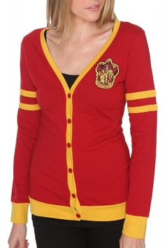 Gryffindor Cardigan.:) i can has one?