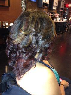 Hair by Celia aka Cici at Salon Wet Mount Airy NC