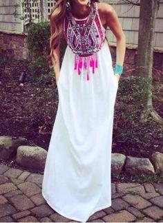 ethnic maxi dress