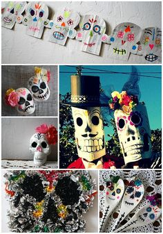 day of the dead diy, via Flickr.