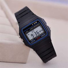 gold silver Silicone watch