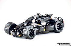 Batmobile project | LEGO® vehicle