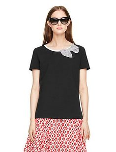 bow tee by kate spade new york