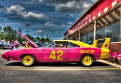 Marty Robbins' 1969 Dodge Charger Daytona by thatsanicepicture