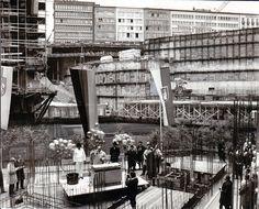 Juni 1972: Grundsteinlegung für die U-Bahn-Station Kröpcke
