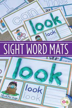Sight Word Activity Mats