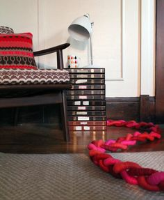 diy project: sculptural braided extension cords | Design*Sponge