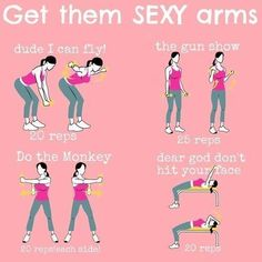 Sexy arm workout