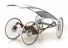 Efficient Nesting Rickshaws : Lecomotion Urban E-Trike