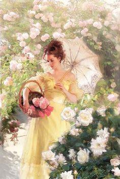 "romanceoftheworld: "" dahlias_chrysanthemums_flower… """