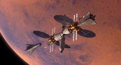 ❝ Lockheed Martin trabaja en una estación espacial para Marte y la nave que llevará astronautas a la superficie ❞ ↪ Vía: proZesa