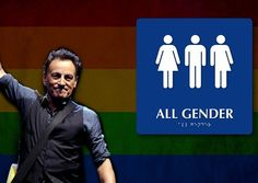 SUPPORTING THE BORN MALE JERSEY GIRL: New Jersey rock legend Bruce Springsteen wants you to know that he is in favor of men in a dress using the ladies room. He feels so strongly in favor of allowing transgender men to use the restroom with young girls that he canceled his show in North Carolina in protest over it. http://www.nowtheendbegins.com/bruce-springsteen-cancels-concert-in-fight-to-allow-transgender-men-to-use-ladies-room/