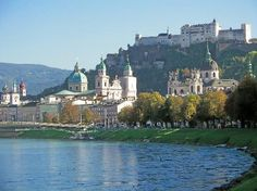 Salsburg, Austria, the home of The Sound of Music.
