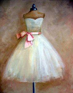 A ballet costume preparing for a peformance Ballerina Art, Ballerina Dress, Ballet Art, Mixed Media Canvas, Mixed Media Art, Dress Painting, Pretty Ballerinas, Fru Fru, Art Themes