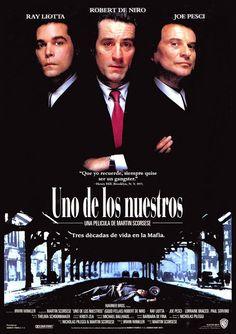 Póster Uno de los Nuestros (Goodfellas) #UnodelosNuestros #Goodfellas #TheGoodfellas #RobertdeNiro #Scorsese #RayLiotta #JoePesci #Mafia #CosaNostra #Gangsters