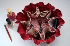 GRAND/Organisateur de bijoux/Trousse par LaPistacheArtistique