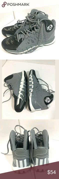 Adidas D Rose 773II Basketball Shoes Mens 8.5 Blac Adidas D Rose 773II Basketball Shoes Mens 8.5 Black Grey  Excellent used condition.   Pre-owned item condition. Item has little to no signs of wear unless specifically stated. Please carefully review item details and uploaded pictures for details of this item before bidding or buying. Item is functional and ready for your closet!    MS adidas Shoes Sneakers
